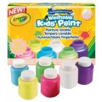 Peinture lavable : 6 pot fluo