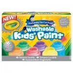 Peinture lavable : 6 pot métalliques