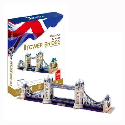 Puzzle 3D 120 pièces : Tower Bridge, Londres - Cubic-77761