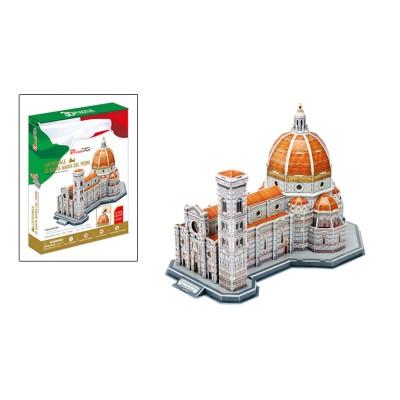 Puzzle 3D 123 pièces : Basilique Saint Mary Flower, Italie - Cubic-79207
