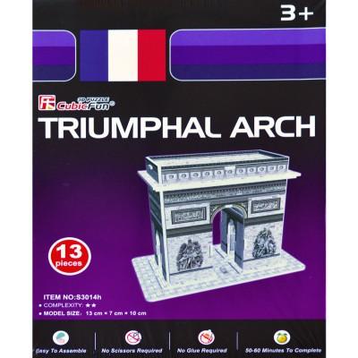 Puzzle 3D 13 pièces : L'Arc de Triomphe - Cubic-71499
