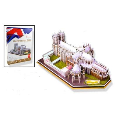 Puzzle 3D 145 pièces : Abbaye de Westminster, Royaume-Uni - Cubic-79022