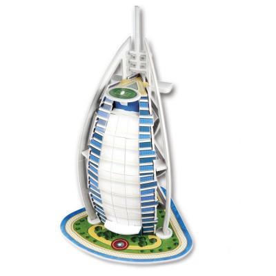Puzzle 3D 17 pièces : Burj Al Arab, Dubaï - Cubic-77702