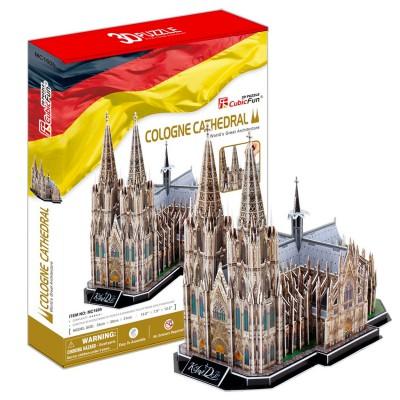 Puzzle 3D 179 pièces : Cathédrale de Cologne, Allemagne - Cubic-79125