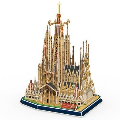 Puzzle 3D 194 pièces : Sagrada Familia, Barcelone - Cubic-71508