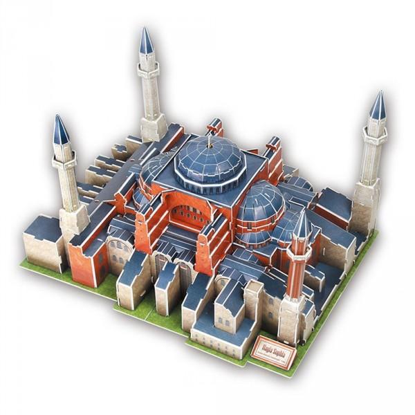 Puzzle 3D 225 pièces : Basilique Sainte-Sophie, Istanbul - Cubic-79123