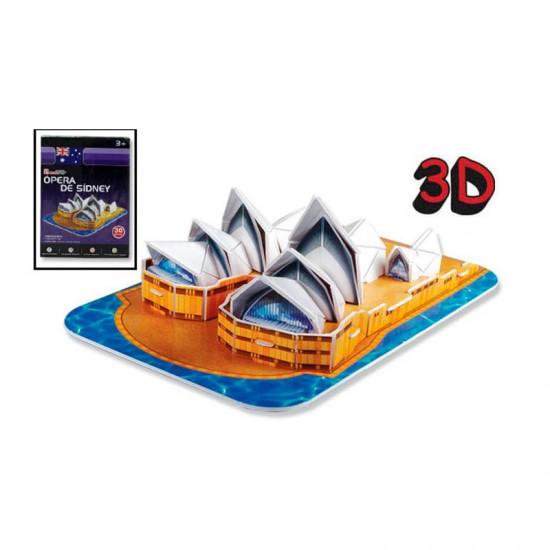 Puzzle 3D 30 pièces : Sydney House, Australie - Cubic-77696