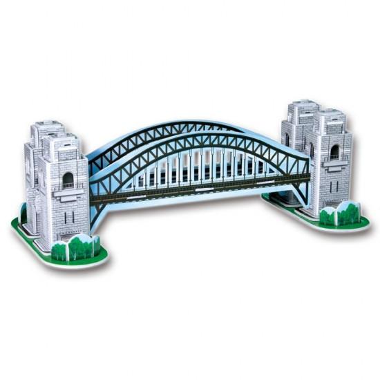 Puzzle 3D 33 pièces : Sydney Harbour Bridge, Australie - Cubic-77697