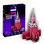 Puzzle 3D 33 pièces : Tour Spasskaya, Russie
