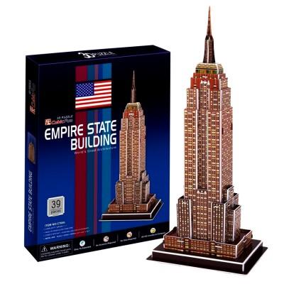 Puzzle 3D 39 pièces : Empire State Building - Cubic-77716
