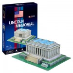 Puzzle 3D 41 pièces : Lincoln Memorial, Wahington DC
