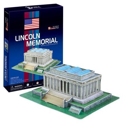 Puzzle 3D 41 pièces : Lincoln Memorial, Wahington DC - Cubic-77728