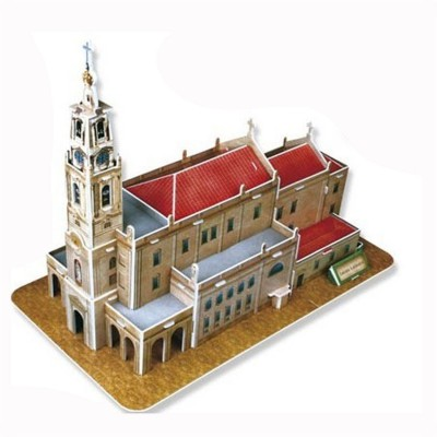 Puzzle 3D 47 pièces : Cathédrale Notre Dame de Fatima, Portugal - Cubic-77734