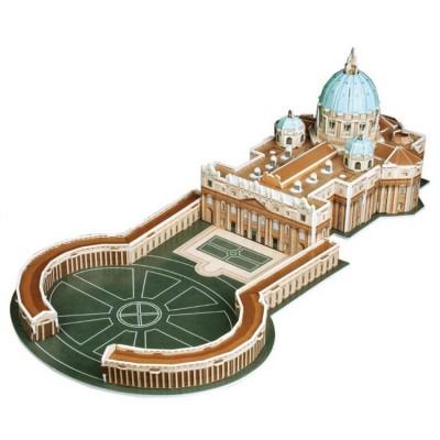Puzzle 3D 56 pièces : Basilique St Pierre, Vatican - Cubic-77727