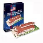 Puzzle 3D 57 pièces : Basilique du sanctuaire national de Marie Reine de l'univers, Etats Unis