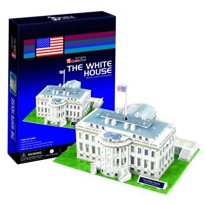Puzzle 3D 65 pièces : Maison Blanche, Washington DC - Cubic-77740