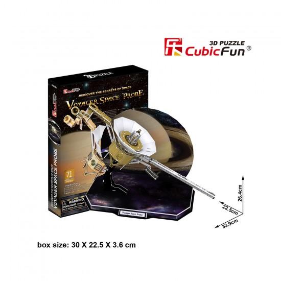 Puzzle 3D 71 pièces : Voyager Space Probe - Cubic-79323