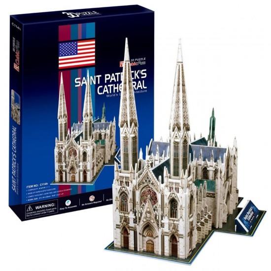 Puzzle 3D 72 pièces : Cathédrale Saint Patrick, New York - Cubic-77733