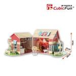 Puzzle 3D 84 pièces : Sweet Villa