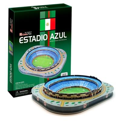 Puzzle 3D 92 pièces : Estadio Azul, Mexico - Cubic-77739
