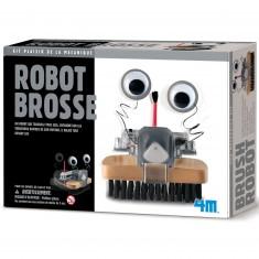 Kit de fabrication Fun Mechanics : Robot brosse