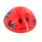 Puce sauteuse 5.5 cm : Rouge