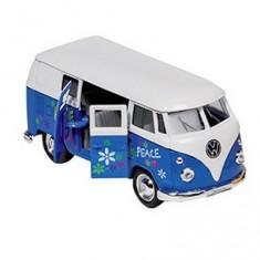 Voiture en métal Volkswagen Microbus : Bleu
