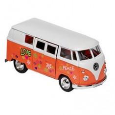 Voiture en métal Volkswagen Microbus : Orange