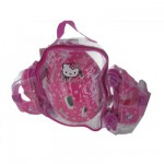 Sac cristal avec patins + casque + 2 protections Pointure 22/28 : Hello Kitty