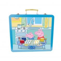 Ma boîte métallique créative Peppa Pig
