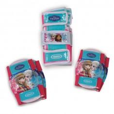 Set de 3 protections La Reine des Neiges (Frozen) : Genouillères, coudières et protège-poignets