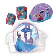 Set de protections La Reine des neiges (Frozen) : Casque, coudières, genouillères