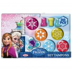 Set de tampons La Reine des Neiges (Frozen)