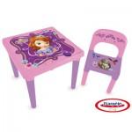 Table d'activités + Set créatif Princesse Sofia