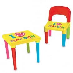 Table d'activités Play-Doh avec chaise et set créatif