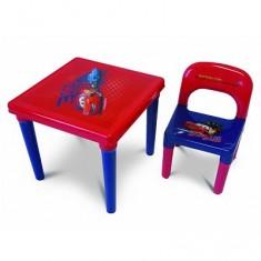 Table d'activités et chaise : Cars