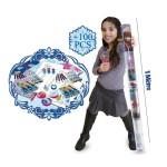 Tube créatif 1 mètre : La Reine des Neiges (Frozen)