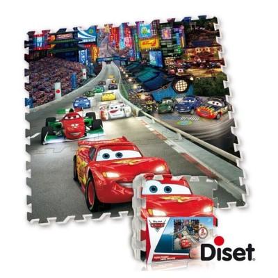 dalle en mousse tapis cars jeux et jouets diset avenue des jeux. Black Bedroom Furniture Sets. Home Design Ideas