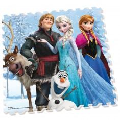 Dalle en mousse : Tapis La Reine des neiges (Frozen)