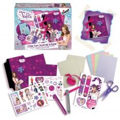 Kit créatif Violetta : Crée ton journal intime