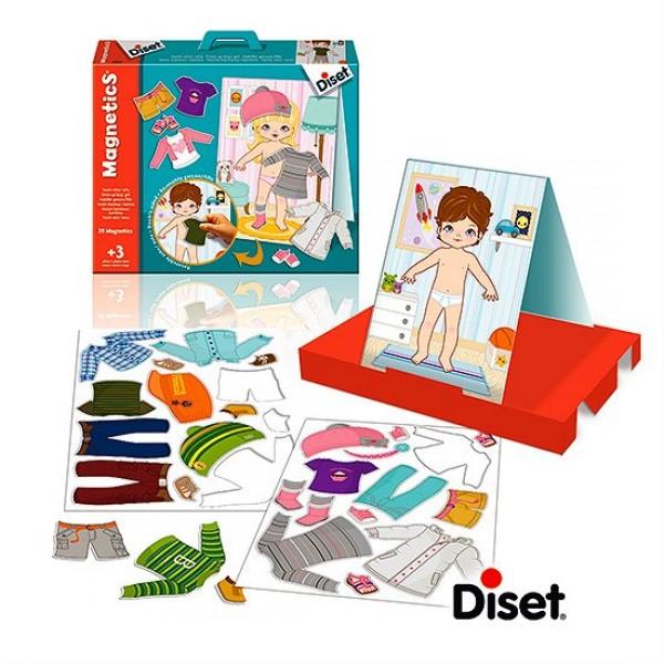 magnetics habits fille gar on jeux et jouets diset avenue des jeux. Black Bedroom Furniture Sets. Home Design Ideas