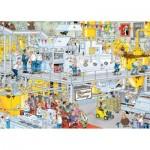 Puzzle 1000 pièces : Jan Van Haasteren : La chocolaterie