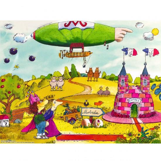 Puzzle 150 pièces : Prince de Motordu - Diset-41021