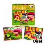 Puzzle 2 x 20 pièces : Puzzles contes : Le petit chaperon rouge