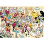 Puzzle 500 pièces : Jan Van Haasteren : Fruits de mer