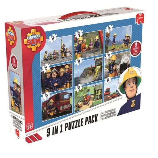 Puzzle de 12 à 50 pièces : Sam Le pompier - Diset-617338