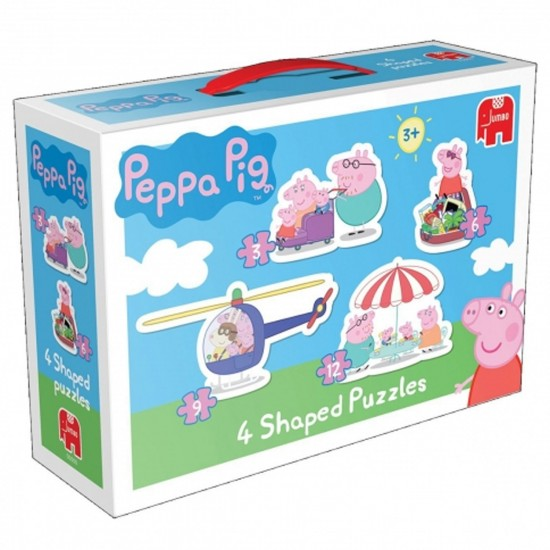 Puzzle de 3 à 12 pièces : Peppa Pig - Diset-618471