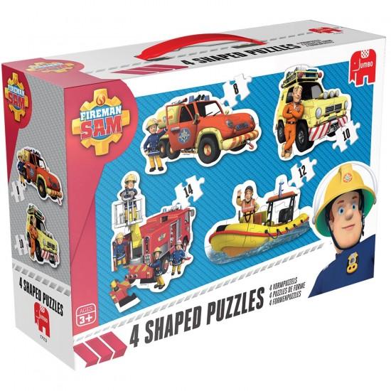 Puzzle de 8 à 14 pièces : Sam le pompier - Diset-619275