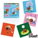 Puzzle évolutif 4 à 12 pièces : Mouk