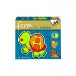 Puzzles de 2 à 5 pièces : Form : Animaux domestiques